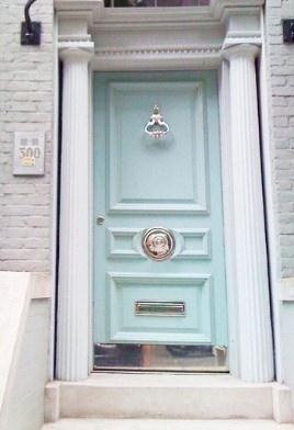 light blue front door   HOME   Pinterest   Sweet, Blue ...