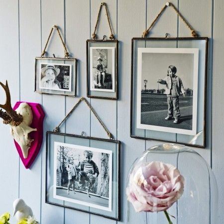 love old photos....great way to display them.