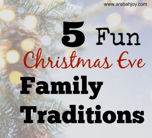 Looking for Christmas Traditions the whole family will enjoy? Here are 5 fun, unique traditions (plus a bonus 6 more!) that your family will love! I especially like the Christmas Eve box idea!