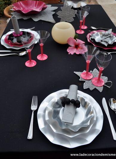 Decoracion de mesa con platos de cart n la decoraci n de - Decoracion de platos ...