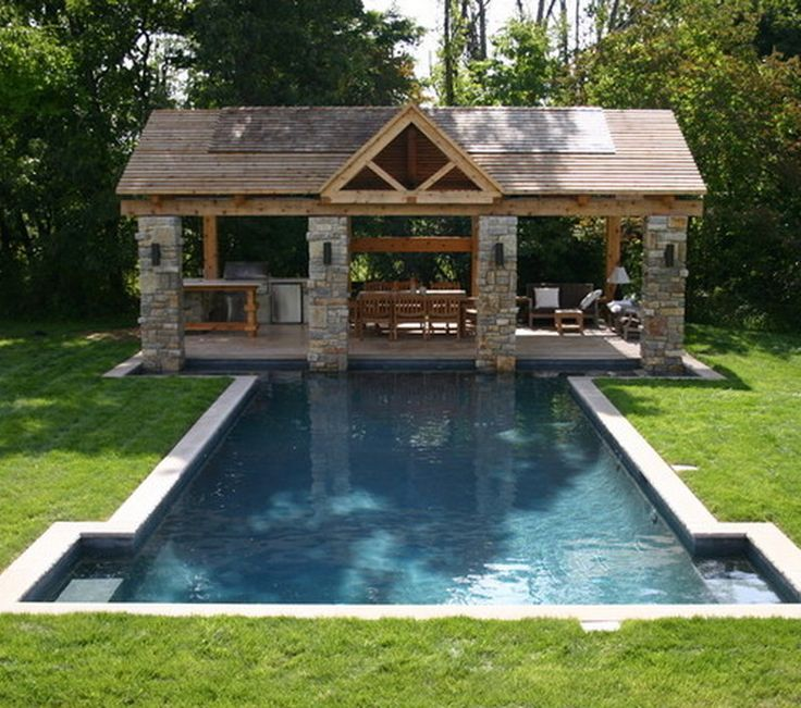 Pool and patio decorating ideas on a budget patio - Backyard pool ideas on a budget ...