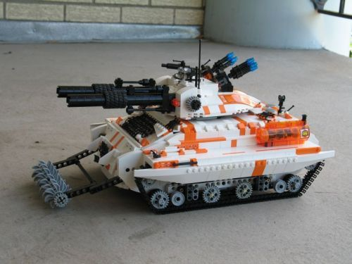 This tank would be an excellent addition to the LEGO Mars Mission theme. Description from mocpages.com. I searched for this on bing.com/images
