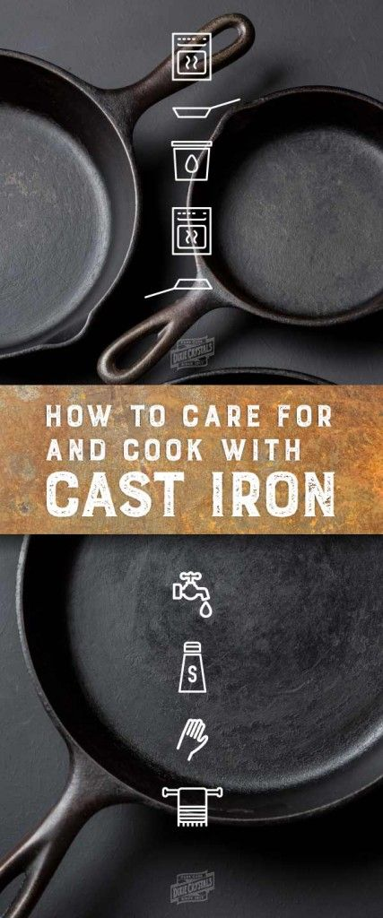 Caring for and Cooking with cast iron- In this Sweetalk blog post we discuss how to care for and cook with cast iron including cast iron dutch ovens and enameled cast iron skillets. We also have included many sweet treat recipes you can make in cast iron cookware.