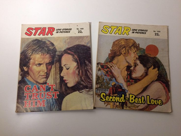 A personal favourite from my Etsy shop https://www.etsy.com/uk/listing/581433319/romance-comics-vintage-romance-star-love