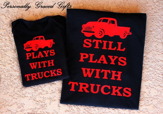 Hey, I found this really awesome Etsy listing at https://www.etsy.com/listing/246222588/plays-with-trucks-and-still-plays-with