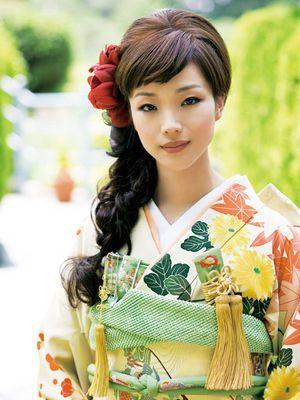 【着物】和装ウェディング・真似したい髪型60選【結婚式】 - NAVER まとめ