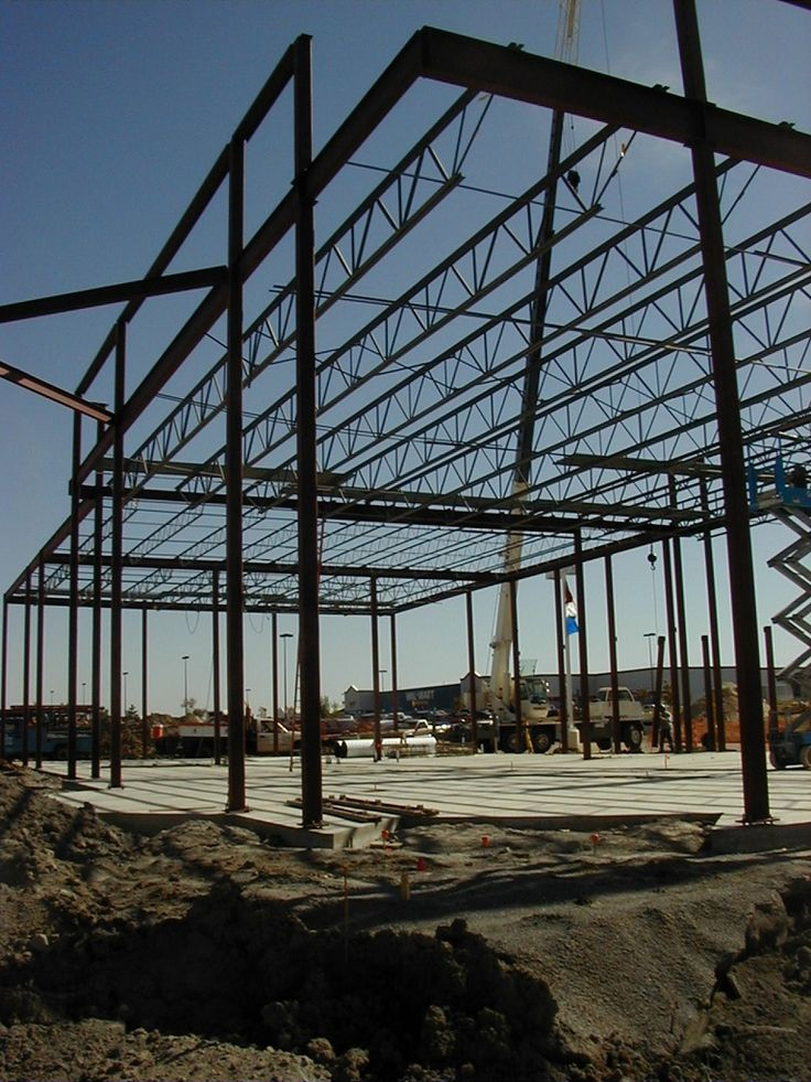 Structural Steel  Framing  - buildipedia - Willowridge Construction, general contractor, Edmonton, AB can provide pre-engineered structureal steel buildings