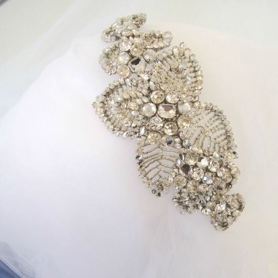 【JENNY PACKHAM】 ビジューカチューシャ Acacia Headdress II Crystal - The Best Day