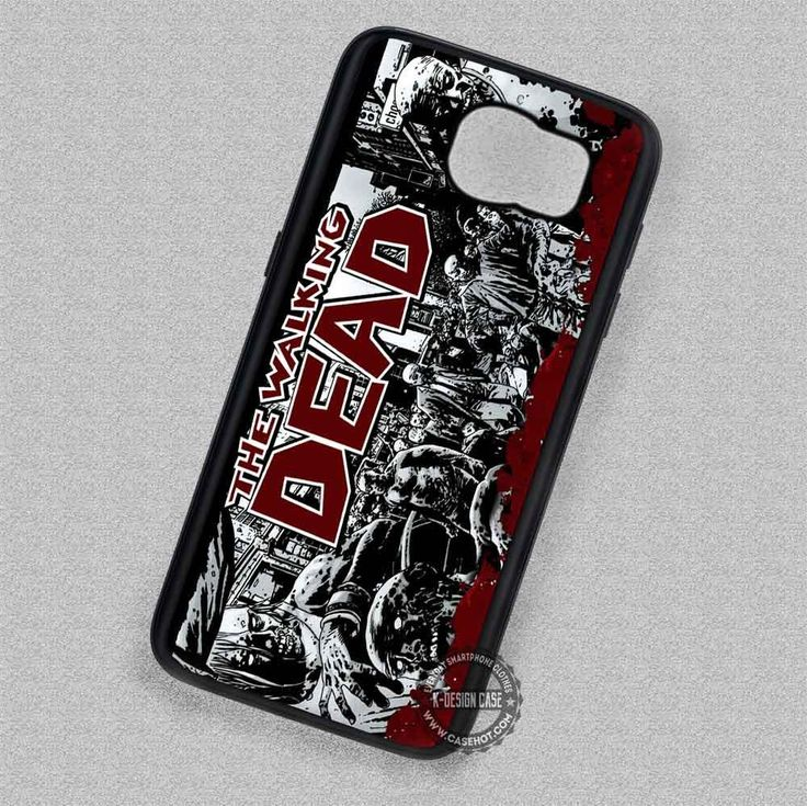 Human Corps The Walking Dead Daryl Dixon - Samsung Galaxy S7 S6 S5 Note 7 Cases & Covers
