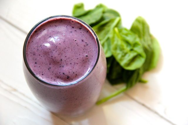 Blueberry Spinach Smoothie - have all the ingredients so I'm giving this one a try today (2/25/13)