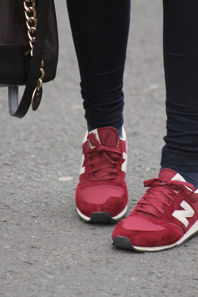womens new balance 420 red