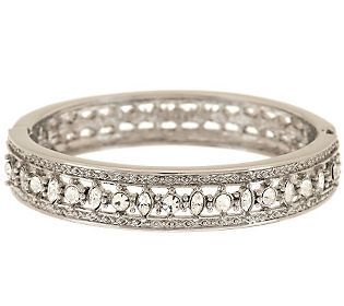Jacqueline Kennedy Engagement Bangle Bracelet- The engagement bracelet is an exact replica of the bangle received by Jackie for her engagement to JFK. She wore it her whole life and eventually bequeathed it to her daughter Caroline.