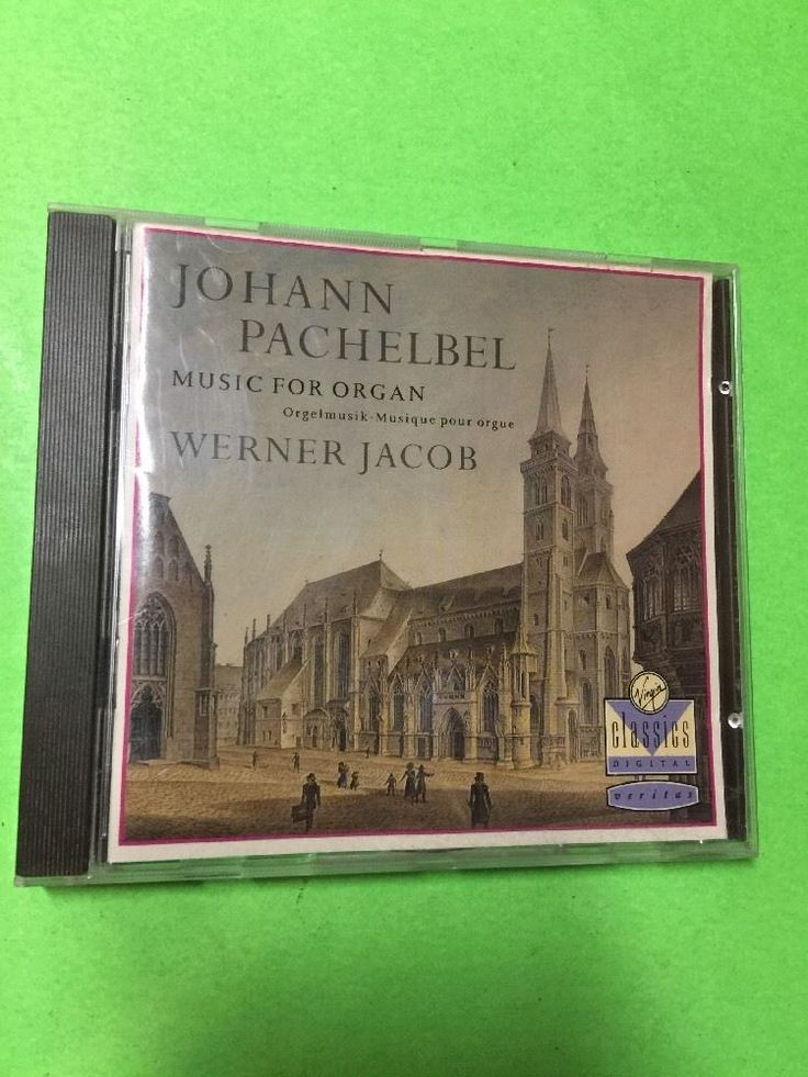 Johann Pachelbel Music For Organ Werner Jacob CD