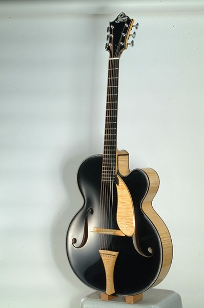 If I wanted an archtop and had the money, this would be AWESOME.