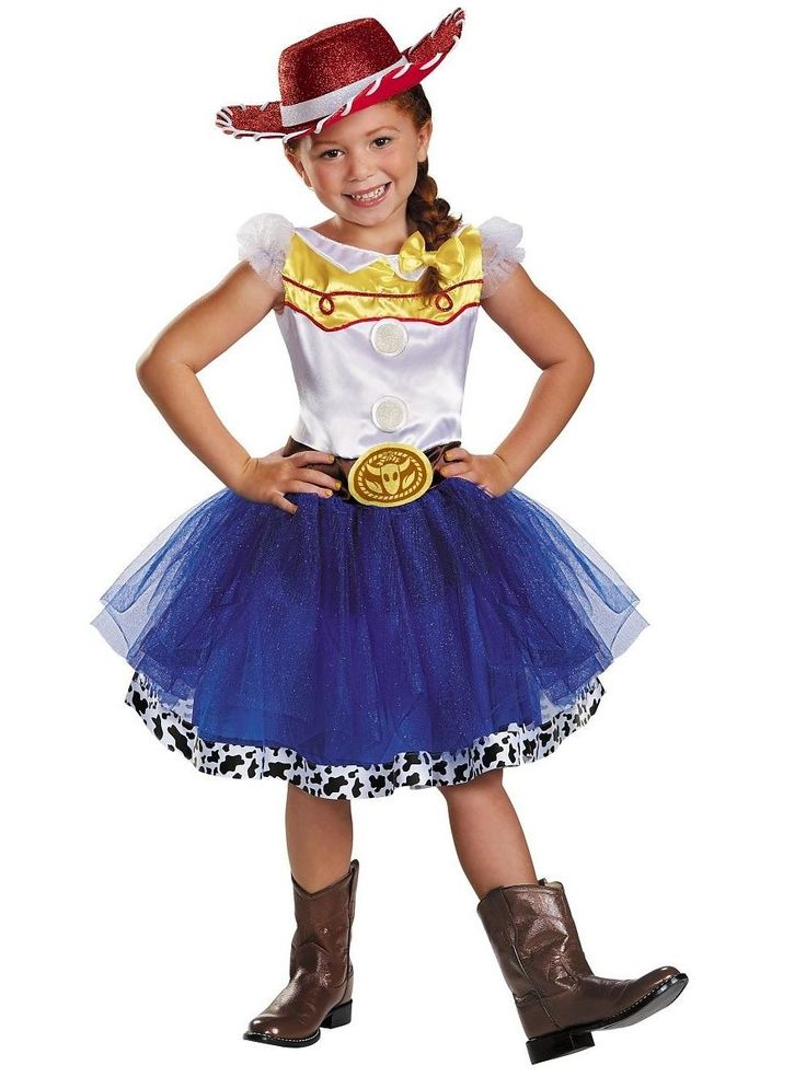 Toy Story Jessie inspired Tutu  Costume Kids Halloween Fancy Dress Cowgirl