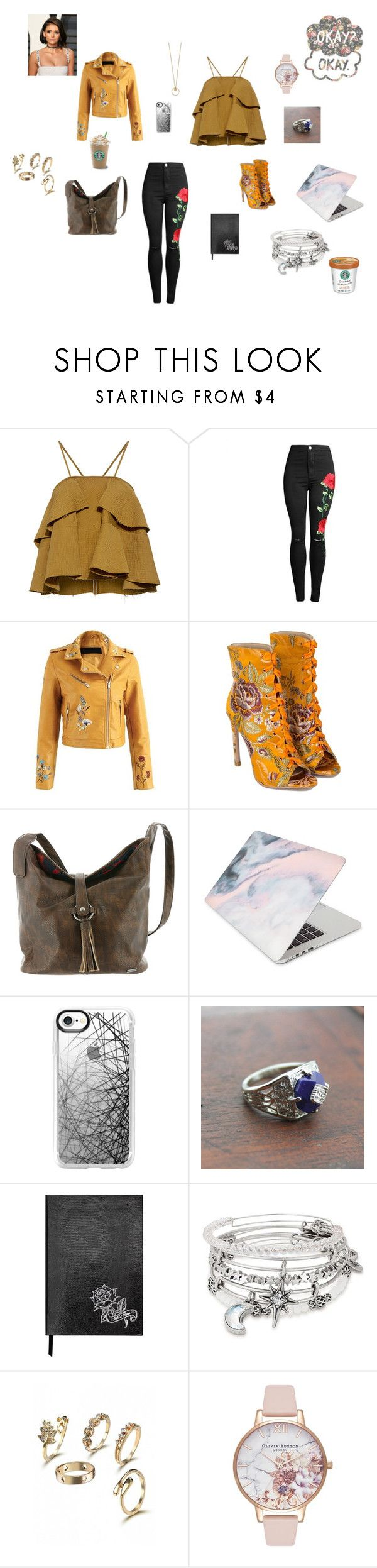 """""""Untitled #19"""" by graciepaeker on Polyvore featuring Rachel Comey, Roxy, Recover, Casetify, Sloane Stationery, Alex and Ani and Olivia Burton"""