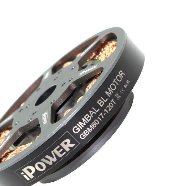 Ipower бесщеточной карданный двигателя GBM8017 для красной эпоса черная магия камеры профессиональный FPV