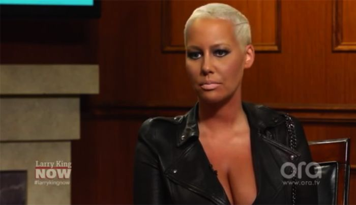 Amber Rose Chats With Larry King About Possibly Posing For Playboy And Being The Voice Of Feminism | I'm so over this hypocrite NoMoreTeamAmber