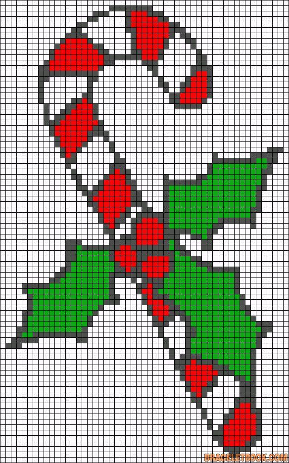 Alpha Friendship Bracelet Pattern #2724 - BraceletBook.com