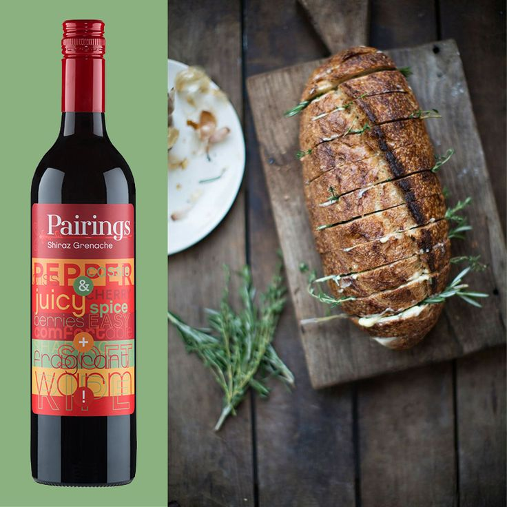 What's your ultimate side dish? A fresh, herby garlic bread is a tough one to beat & is perfect with everything from steak to pasta. But what turns an ultimate duo into a supreme trio? Our Pairings Shiraz Grenache! Check out our limited edition Mixed Reds six pack available online through Dan Murphys. Recipe: Stone Bake Oven Co. Wine: https://m.danmurphys.com.au/list/pairings-wines