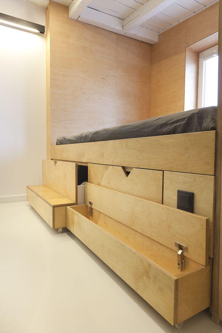 Long apartment by Mili Mlodzi Ludzie