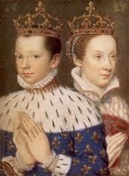 Prince Francis and Mary Queen of Scots.Scots, History, Auburn Hair, Francis Ii, Mary Stuart, France, Queens Elizabeth, King James, Mary Queens