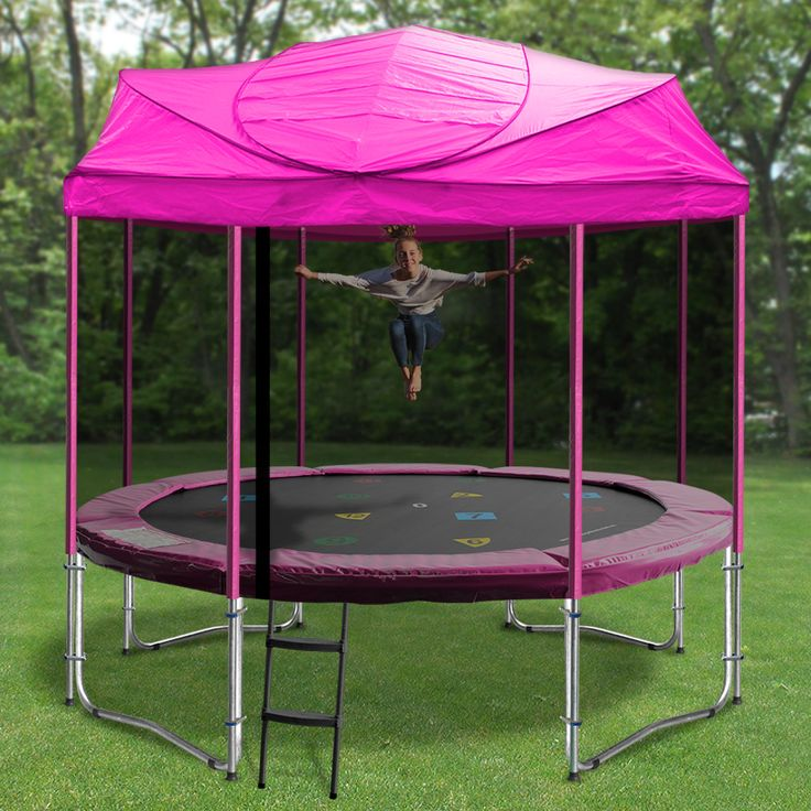 Awesome exclusive Trampoline roofs- the perfect backyard accessory this summer