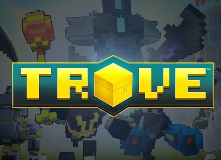 Trove darmowa sandboksowa gra MMORPG wydana przez studio Trion Worlds, początkowo był to projekt kilku osobowej grupy pracującej w Trion ale okazał się na tyle interesujący że postanowiono udostępnić go w formie komercyjnej jako pełnoprawną grę MMORPG.