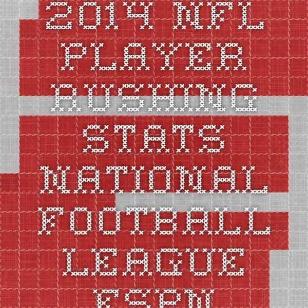 2014 NFL Player Rushing Stats - National Football League - ESPN