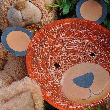 Paper Plate Teddy Bear