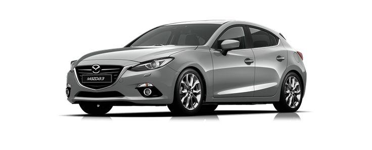 Mazda3 SP25 GT Hatch - Aluminium #mazda3 parklandmazda.com.au