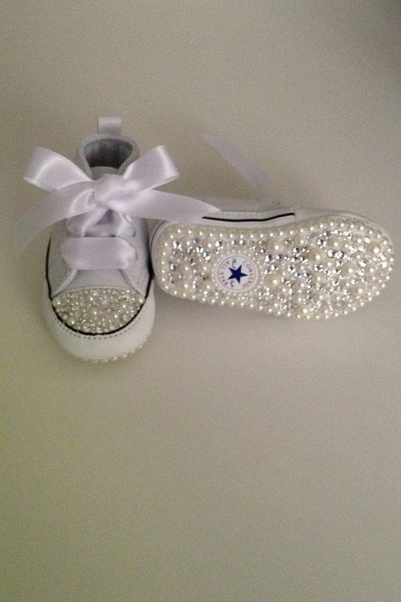 Baby Bling Converse @Maddie Ayers  for vonna omgg:)