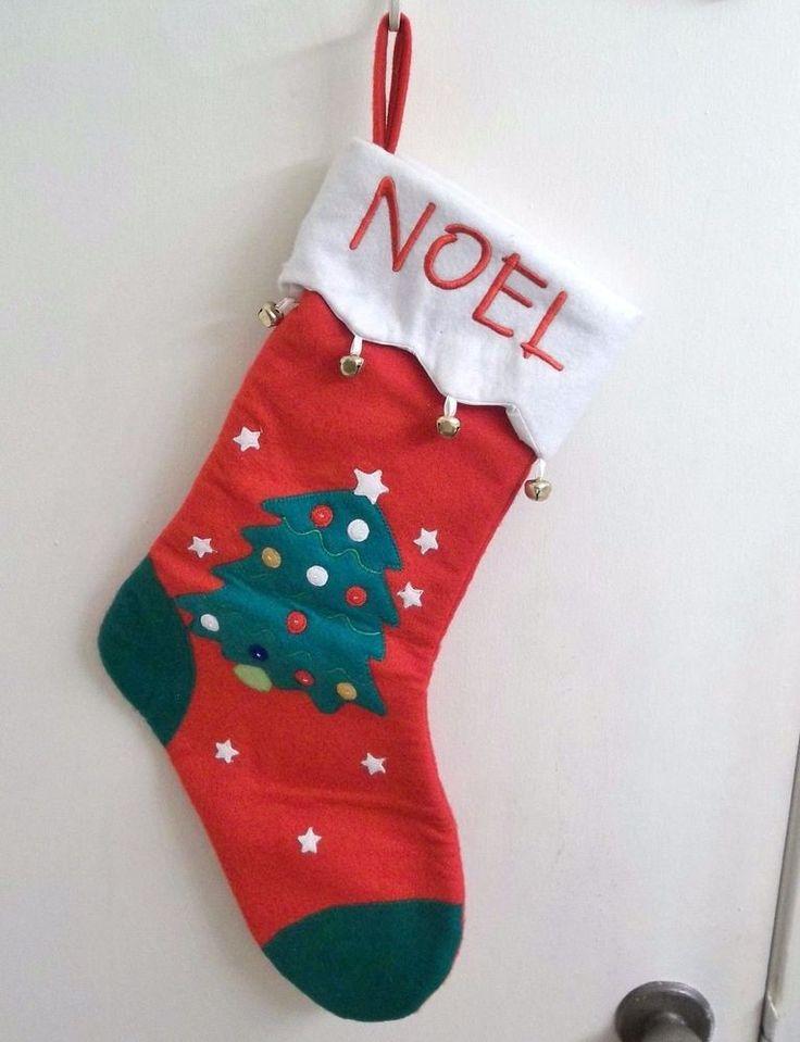 25 unique felt christmas stockings ideas on pinterest for Felt stocking decorations