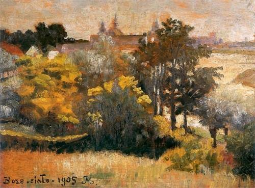 Boze Cialo (Body of Christ) - Jacek Malczewski, 1905