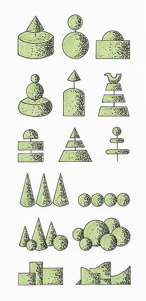 classic topiary garden design