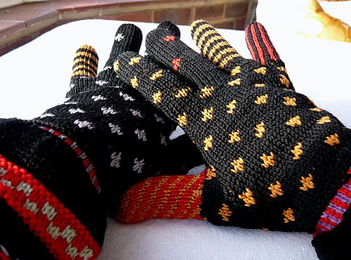 556 best Mittens images on Pinterest | Knitting patterns, Knit ...