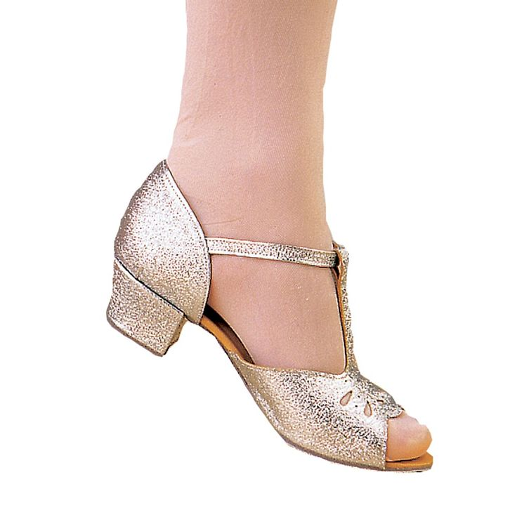 Girls+Ballroom+Block+Heel+-+The+Dance+Depot+Girls+Ballroom+Shoes,+cuban+and+block+heel,+have+been+designed+for+the+young+dancer+starting+ballroom+or+latin+dancer.+Its+also+great+for+when+you+have+a+chorus-line+of+dancers+during+shows+or+performances.+The+cuban+heel+version+is+available+in+gold+and+silver.+Economical,+eye+catching+and+a+great+shoe!