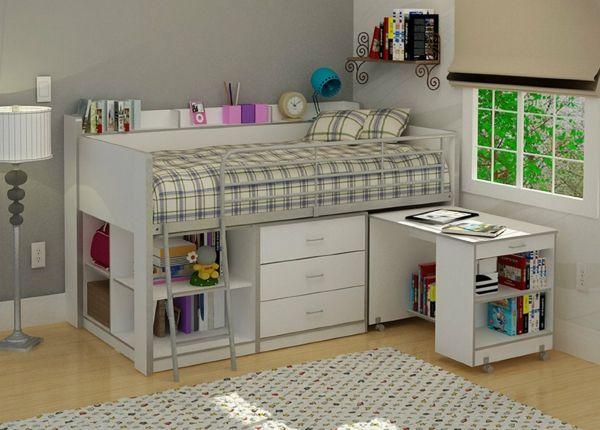 17 best ideas about lit mezzanine avec bureau on pinterest bureau avec tag - Bureau sous lit mezzanine ...