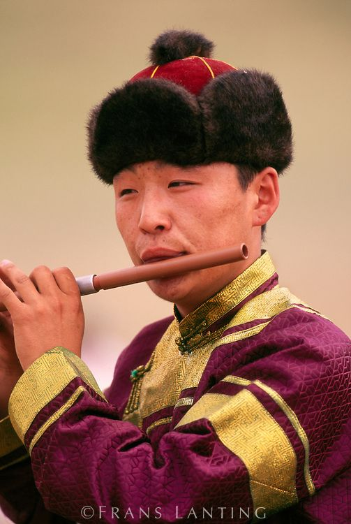 attractive mongolian man