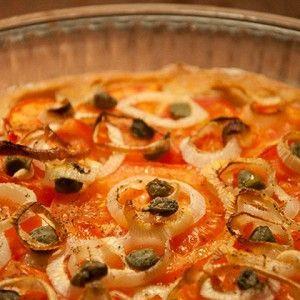 Традиционный греческий пирог с томатами и луком «Ладения» рецепт – греческая кухня, вегетарианская еда: выпечка и десерты. «Афиша-Еда»