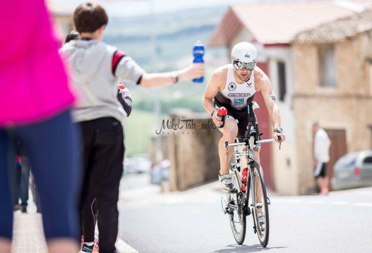 """Recuperat-ion Sport vuelve a patrocinar el Half Triathlon Pamplona Iruña, una de las pruebas """"revelación"""" del 2015."""