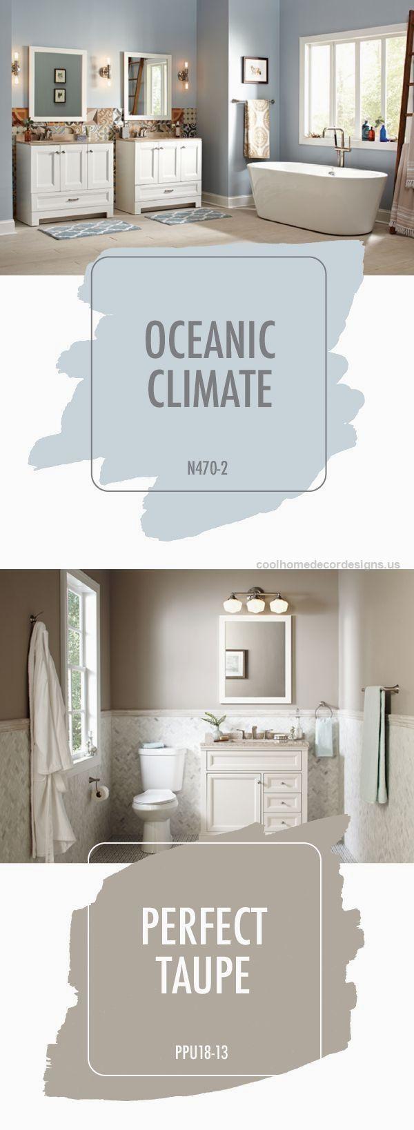 25 best ideas about bathroom color schemes on pinterest - Bathroom paint color combinations ...