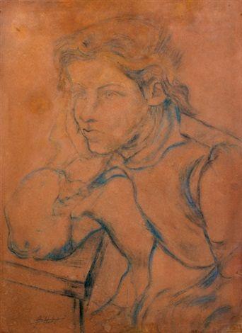 Pensativa (1945) Lino Enea Spilimbergo