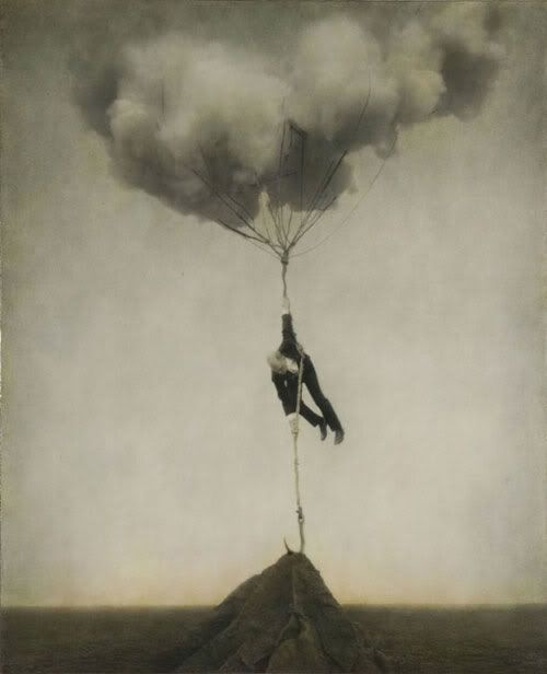 In black & white: Robert and Shana Parke Harrison  Black, white... and sepia. Neo-surrealist, theatrical photography from the series entitled 'Architect's Brother'. Fascinating power of the elements.