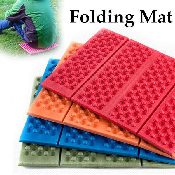 Dobrável Folding acampamento ao ar livre tapete de espuma do assento almofada XPE portátil à prova d ' água cadeira piquenique Mat Pad 5 cores 203 - 0050