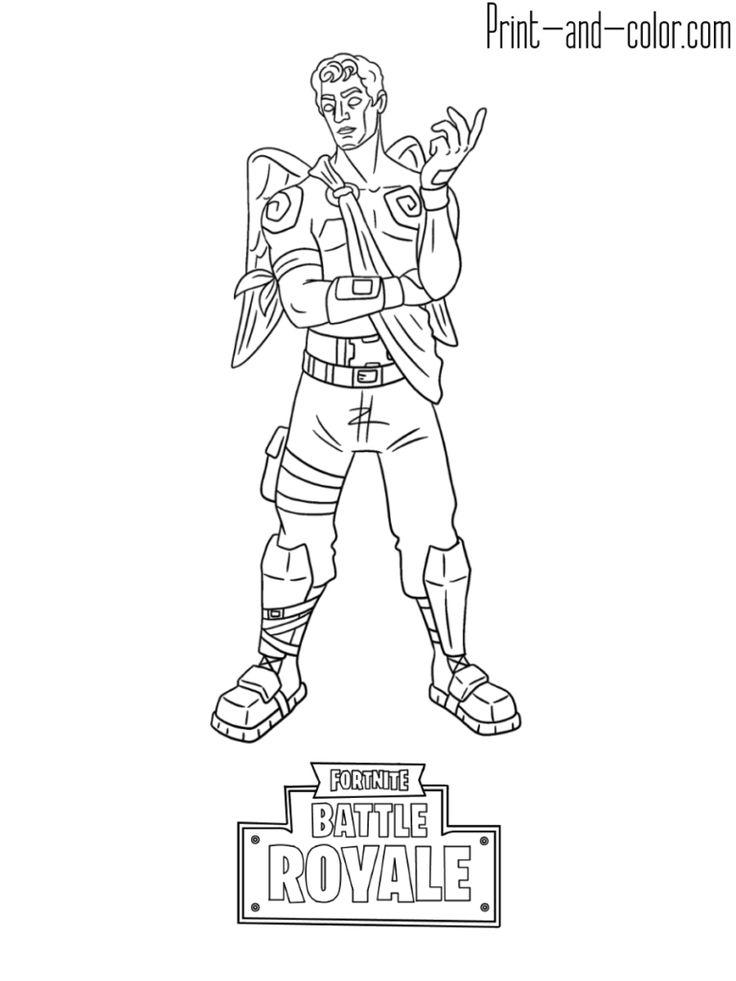 Fortnite Battle Royale Coloring Page Frozen Love Ranger