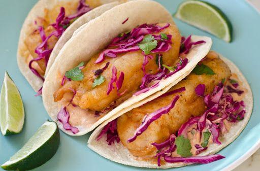 Baja Fish Tacos Recipe | Yummly