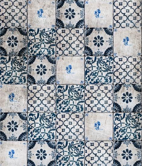 carrelage / blue & white tile