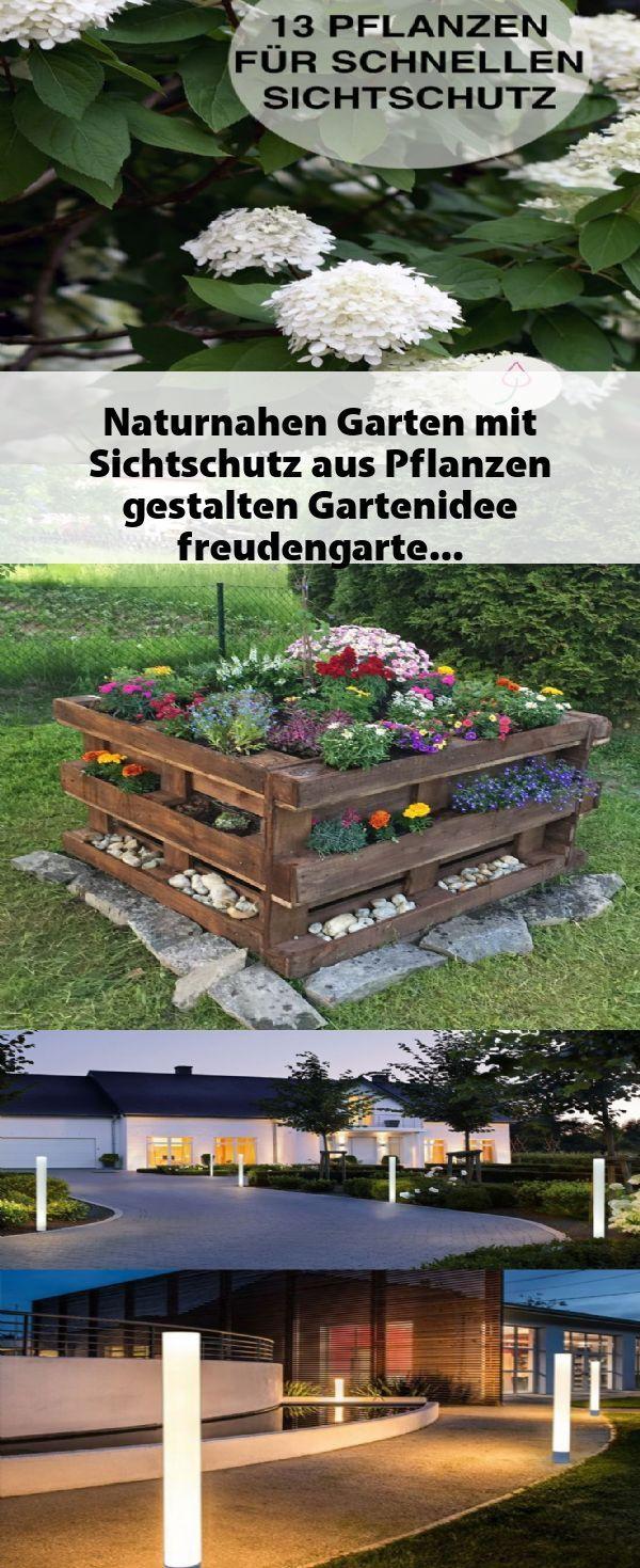 Naturnahen Garten Mit Sichtschutz Aus Pflanzen Gestalten Ga