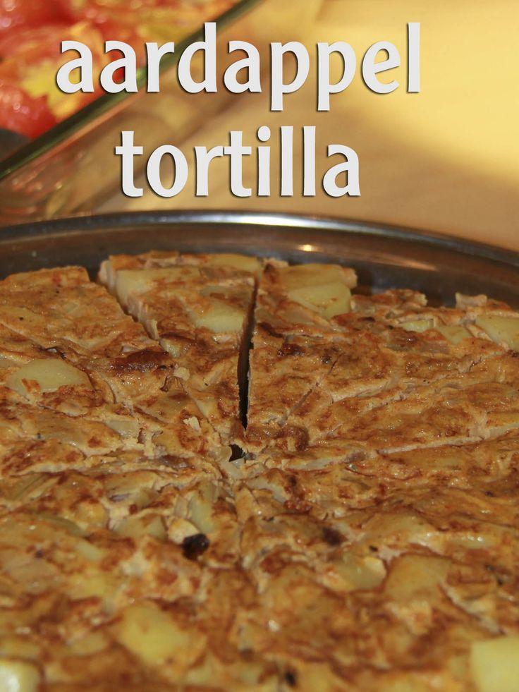 Recept Aardappeltortilla